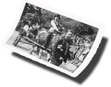 historisches Bild von der Rhodener Walme